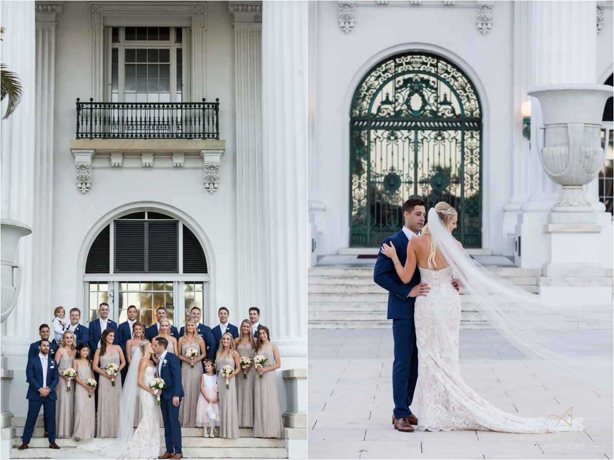 royal poinciana chapel wedding ambrosio photography